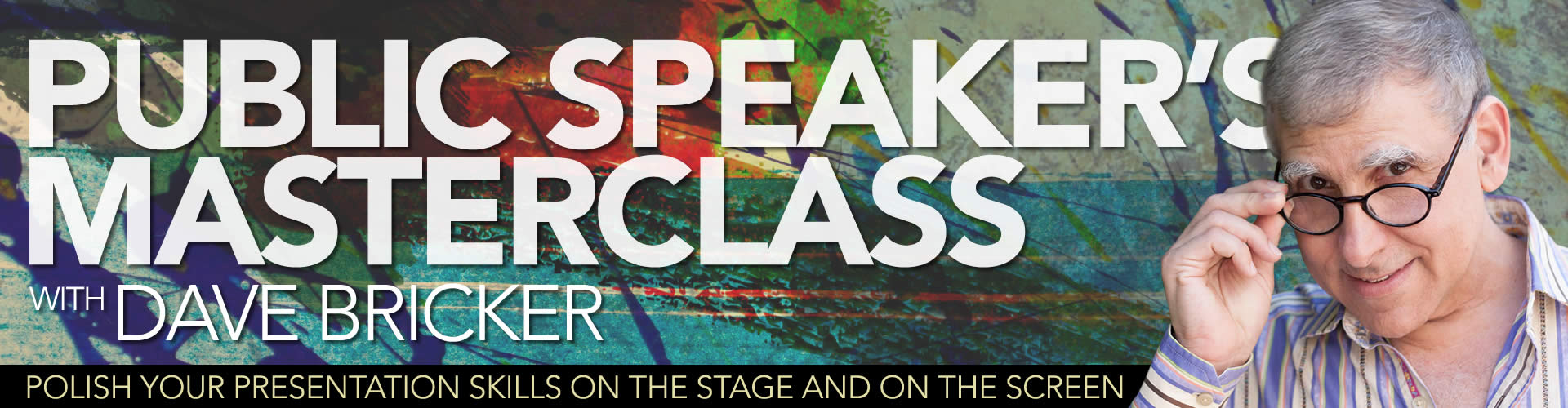 Public Speaking Master Class